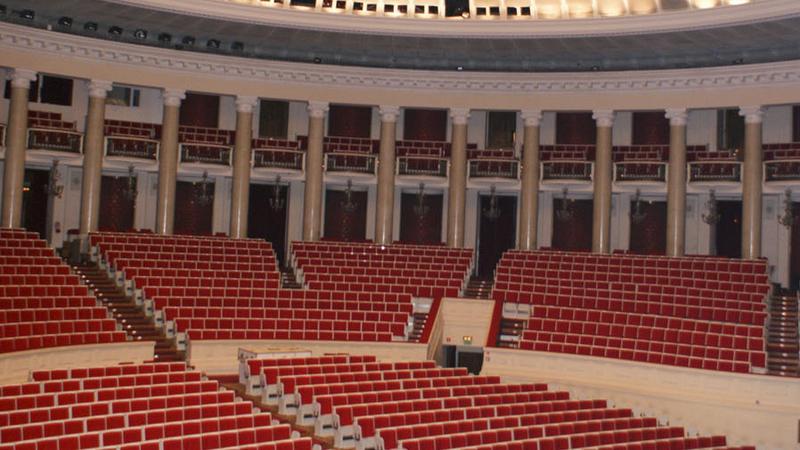 Sala Kongresowa przed remotnem