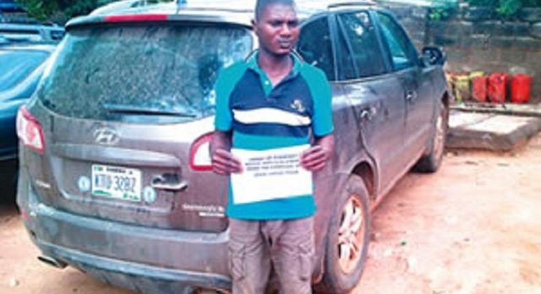 The suspect, Danie Usman
