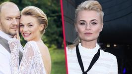 Emilia Komarnicka i Redbad Klynstra pobrali się w tajemnicy. Wreszcie pokazali zdjęcie ze ślubu. Co za suknia!