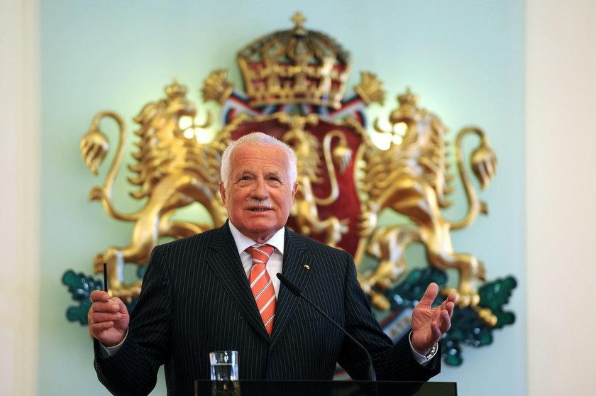 Spotkanie zainteresowało również prezydenta Republiki Czeskiej Vaclava Klausa