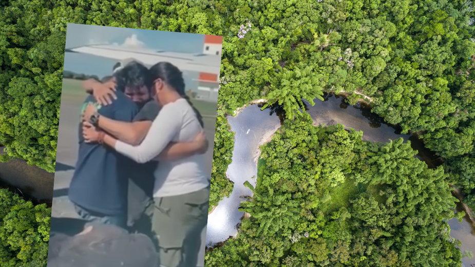 Pilot przeżył katastrofę lotniczą, po czym walczył o przetrwanie w amazońskiej dżungli