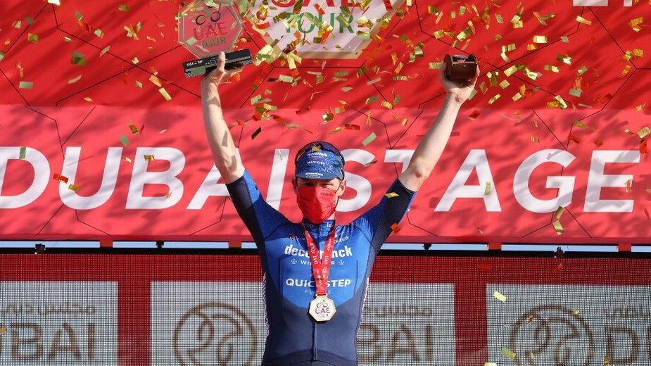Sam Bennett zwyciężył w szóstym etapie wyścigu UAE Tour