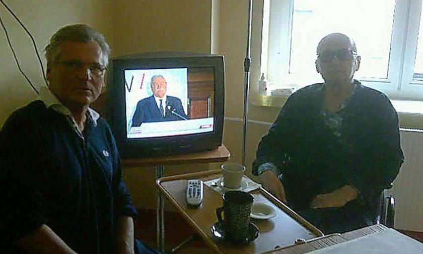 Zdjęcie Kwaśniewskiego i Jaruzelskiego poruszyło Wałęsę