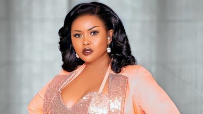 Nana Ama McBrown leaves social media stunned with immaculate peach blazer on denim photos