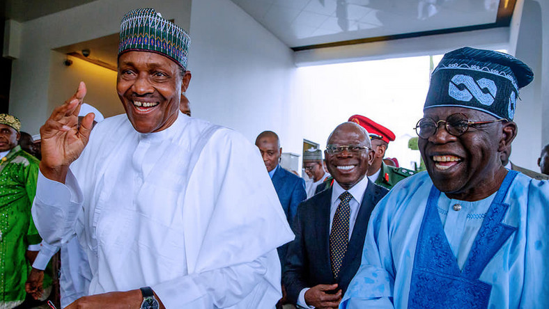 President Muhammadu Buhari (left) and APC National Leader, Bola Tinubu (Presidency)