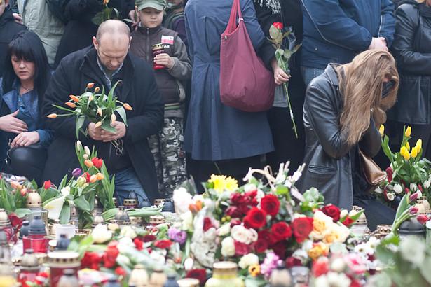 Warszawa ostatnio tak wyglądała 2 kwietnia 2005 roku po śmierci Jana Pawła II (fot. M. Kołyga)