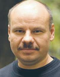 Andrej Lachowicz, białoruski politolog, szef Centrum Edukacji Politycznej  fot. materiały prasowe
