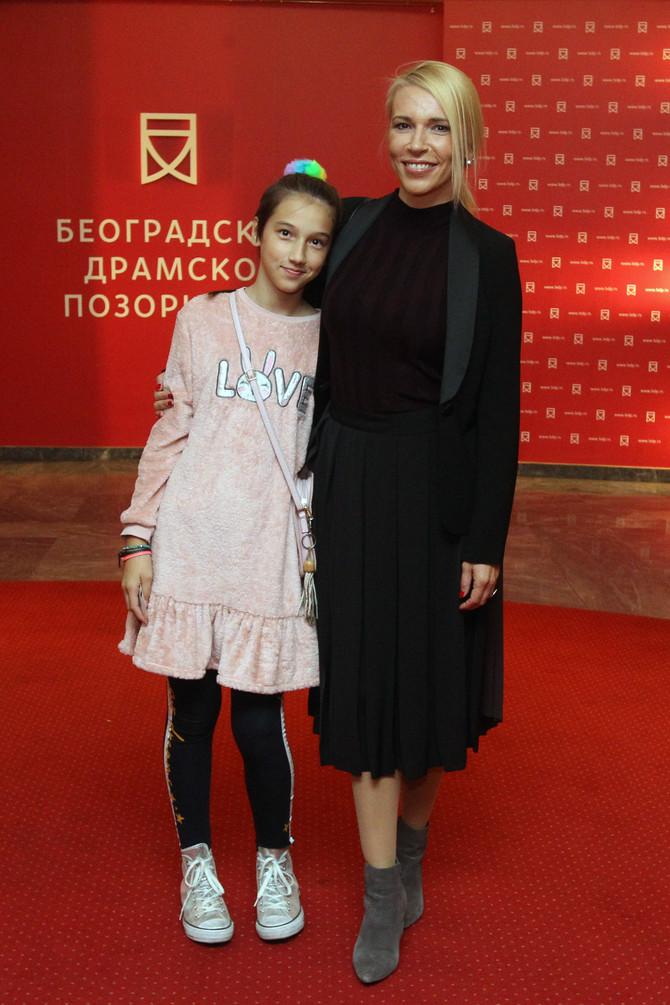 Irina Vukotić sa ćerkom Iskrom
