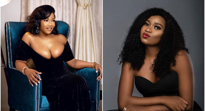 Thelma and Tacha might be the latest housemates from the fourth season of Big Brother Naija with bad blood [Instagram/SymplyTacha] [DailyAdvent]
