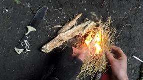 Jak rozpalić ogień w trudnych warunkach?