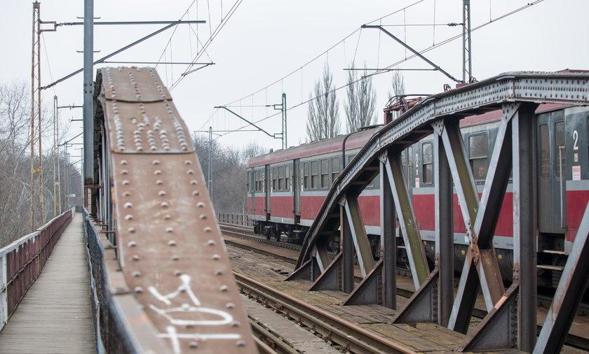 Most kolejowy na Starołęce