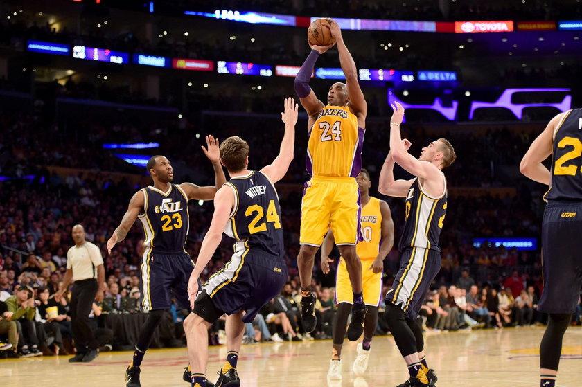 Koniec legendy w wielkim stylu. Kobe Bryant rozegrał swój ostatni mecz
