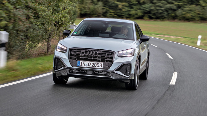 Audi Q2 po face liftingu
