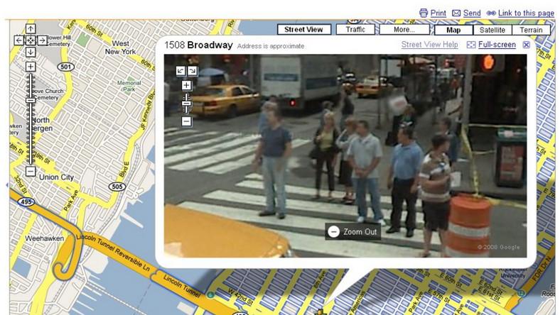 Żądają zamknięcia Google Street View