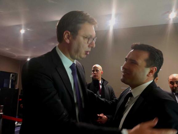 Vučić i Zoran Zaev