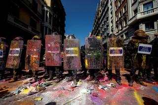 Hiszpania: W Barcelonie starcia katalońskich separatystów z policją