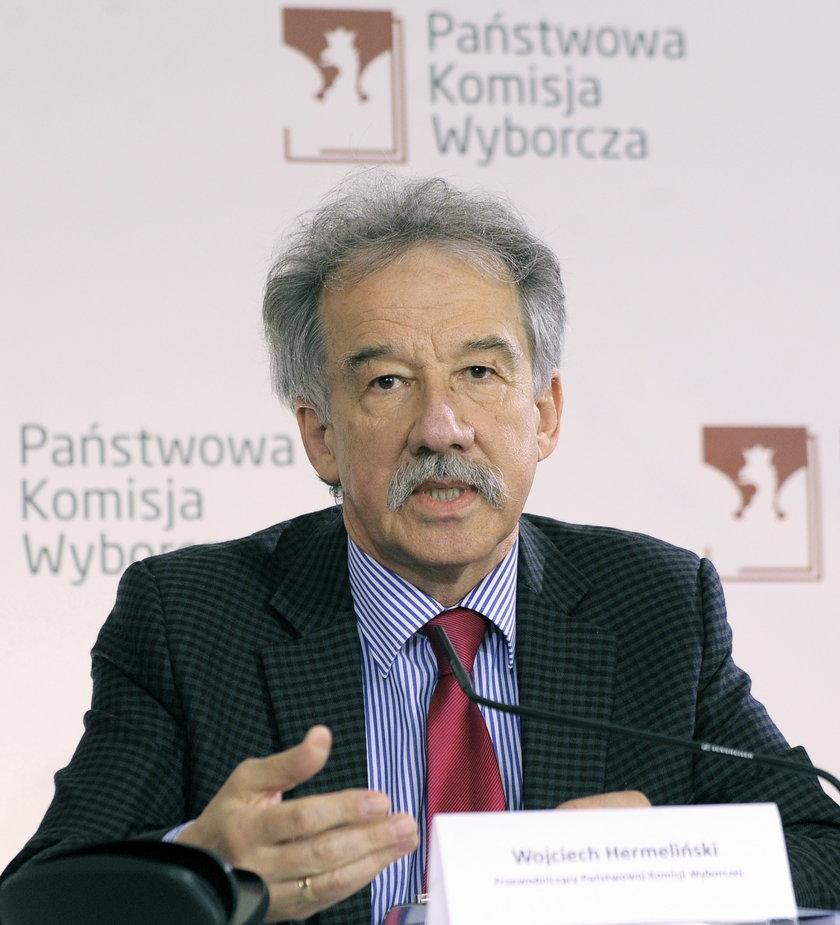 Wojciech Hermelinski (przewodniczacy PKW)