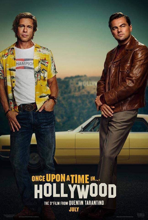 "Plakat do filmu ""Once Upon a Time in Hollywood"""