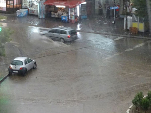 Vranje posle kiše