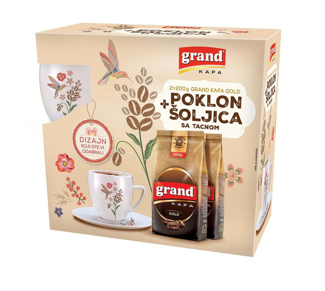 Grand kafa šoljica - poklon set