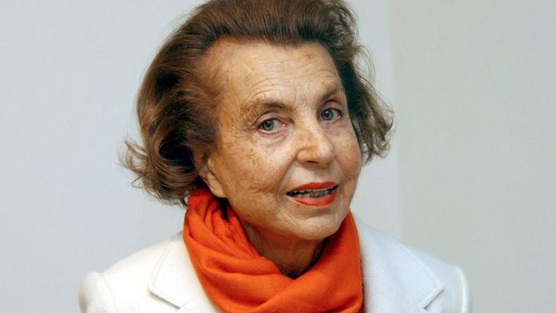 Liliane Bettencourt, współwłaścicielka L'Oreal, ubezwłasnowolniona przez sąd
