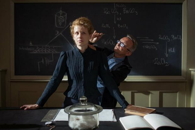 """""""Maria Curie"""" - zdjęcie z planu filmu"""