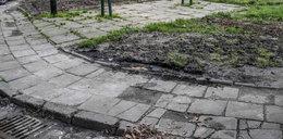 Kraków. Osiedla w Nowej Hucie toną w błocie