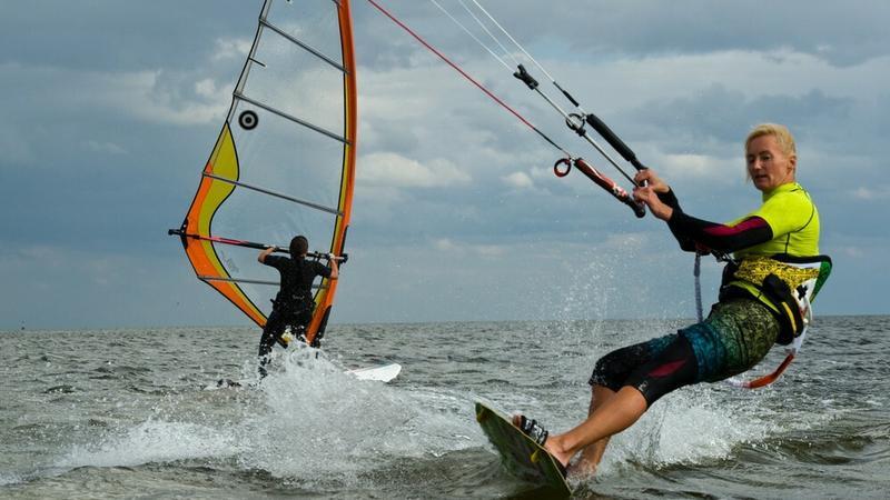 Windsurfing i kitesurfing w Zatoce Puckiej