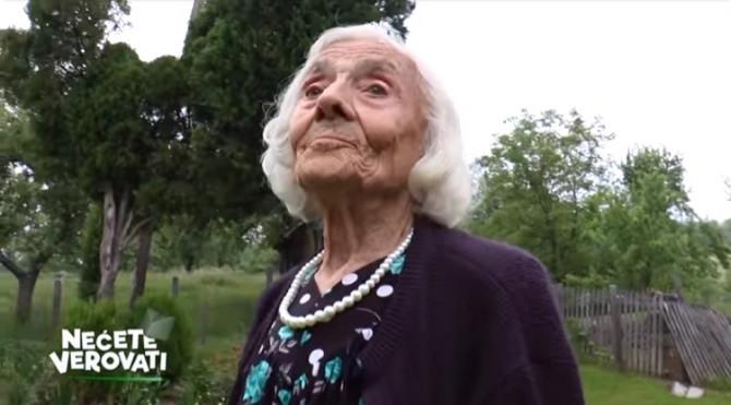 Baka Ljubica je žena zmaj i u 95. godini!