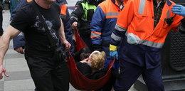 Eksplozja w rosyjskim metrze. Dramatyczne zdjęcia