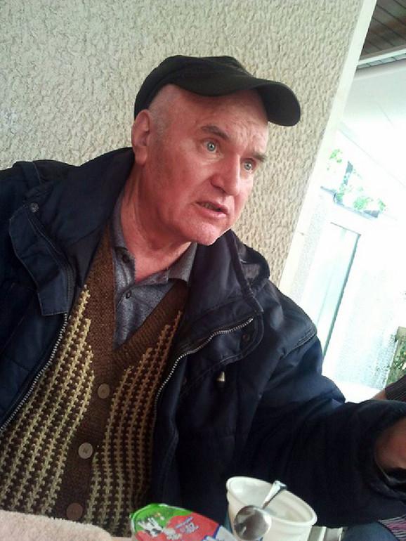 Ratko Mladić nakon hapšenja