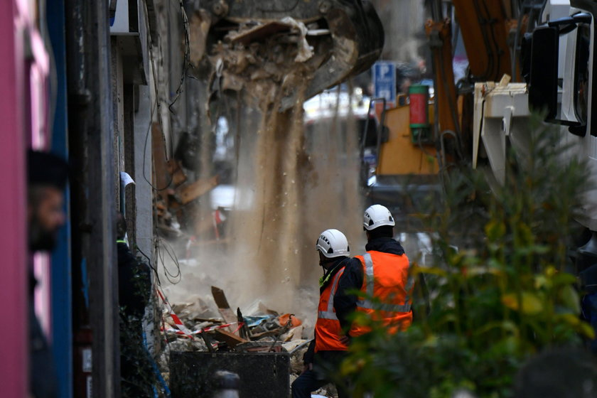 Katastrofa budowlana w Marsylii. 4 ciała wydobyte spod gruzów