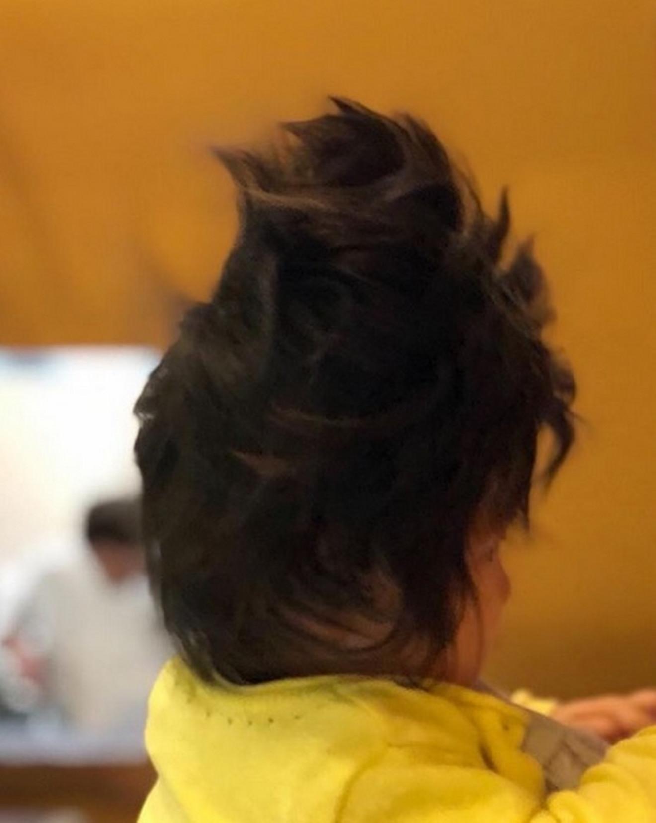 Čanko kad se probudi, pa se frizura poremeti