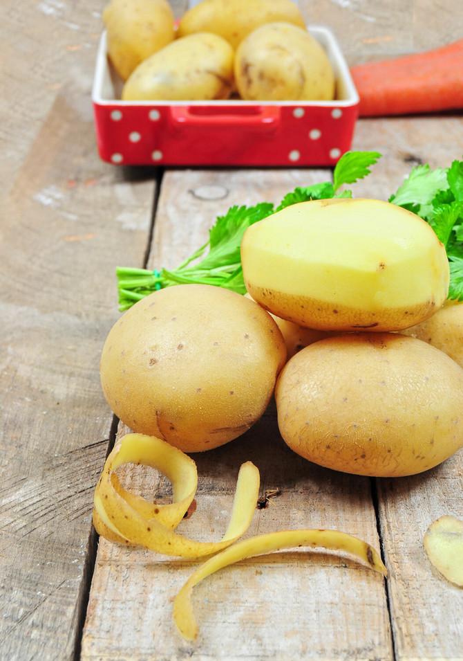 Krompir treba da držite u papirnim kesama u ostavi