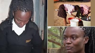 Inspiring story of female student who works as a security guard at night