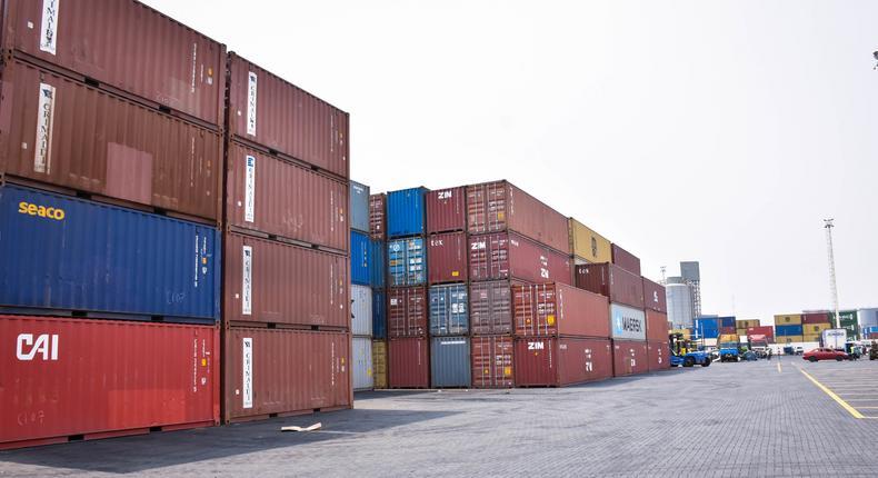 Port cargo