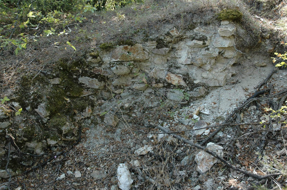 Dovlji kopači uništili su bedem na lokalitetu Međa kod Leskovca