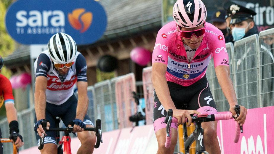 Zdjęcie z 18. etapu Giro d'Italia 2020