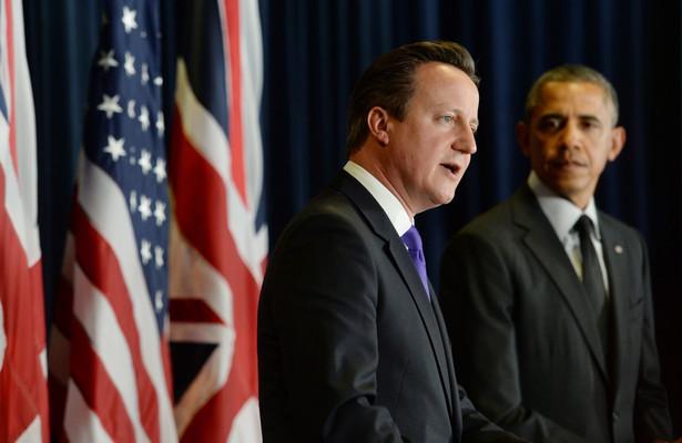 David Cameron i Barack Obama EPA/STEFAN ROUSSEAU