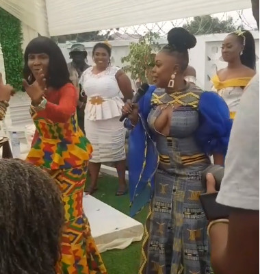 Afia Schwarzenegger hosted the ceremony
