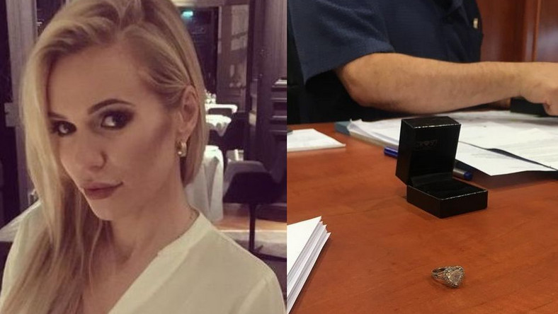 Doda oddała pierścionek zaręczynowy do Urzędu Skarbowego