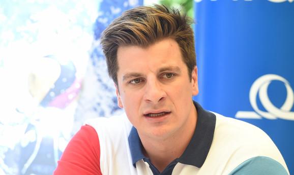 Vaterpolo reprezentativac Srbije Milan Aleksić