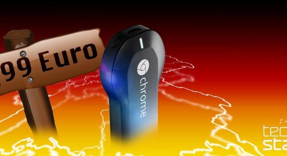Google Chromecast: ab 19. März für 39,99 Euro erhältlich