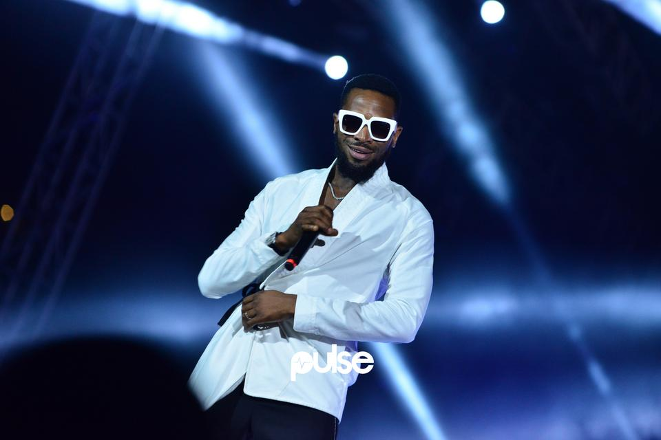 D'Banj performing at Born In Africa Festival 2018