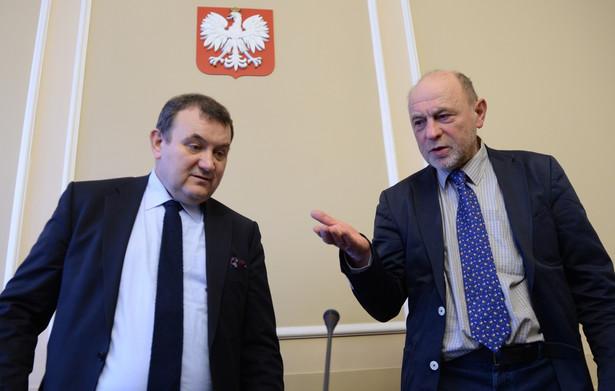 Stanisław Gawłowski i Bogusław Sonik