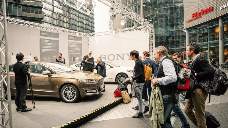 Ford Mondeo Vignale z systemem Sony: pokaz w Berlinie