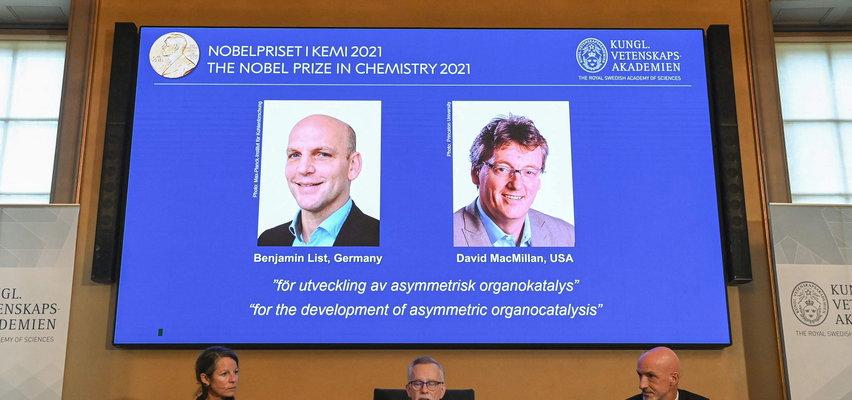 Poznaliśmy laureatów Nagrody Nobla z chemii. To Benjamin List i David W.C. MacMillan