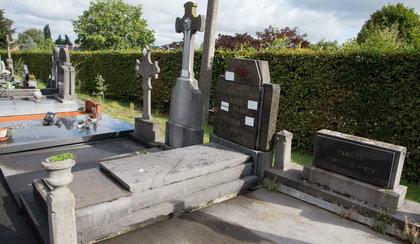 Ciało burmistrza na cmentarzu. Miał poderżnięte gardło