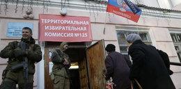 Separatyści terroryści skończyli wybory
