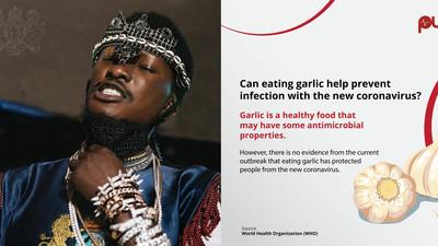 Fact-checking Freedom Jacob Caesar: Garlic cure for coronavirus not medically proven